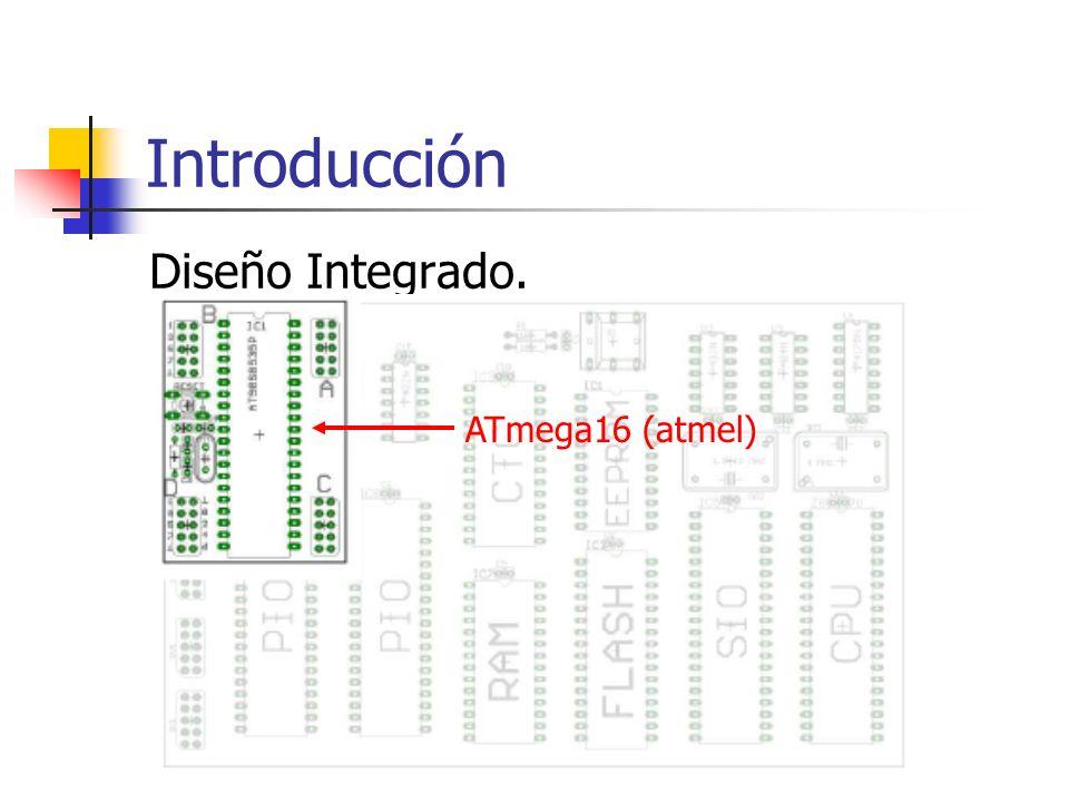 Digital I/O pin 1 del port B Módulo de Interrupción 1 - entrada 5 Pin Tx de puerto serie Conversor AD canal 5