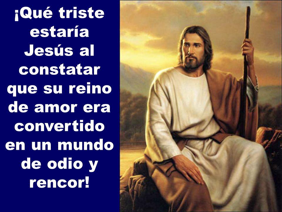Cristo se ve, y ve a sus discípulos, como quien es entregado a la violencia de este mundo