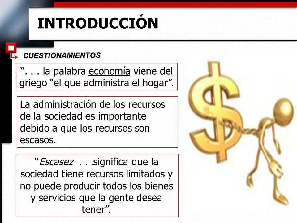 Microeconomía y Macroeconomía u Microeconomía se centra en las partes individuales de la economía.