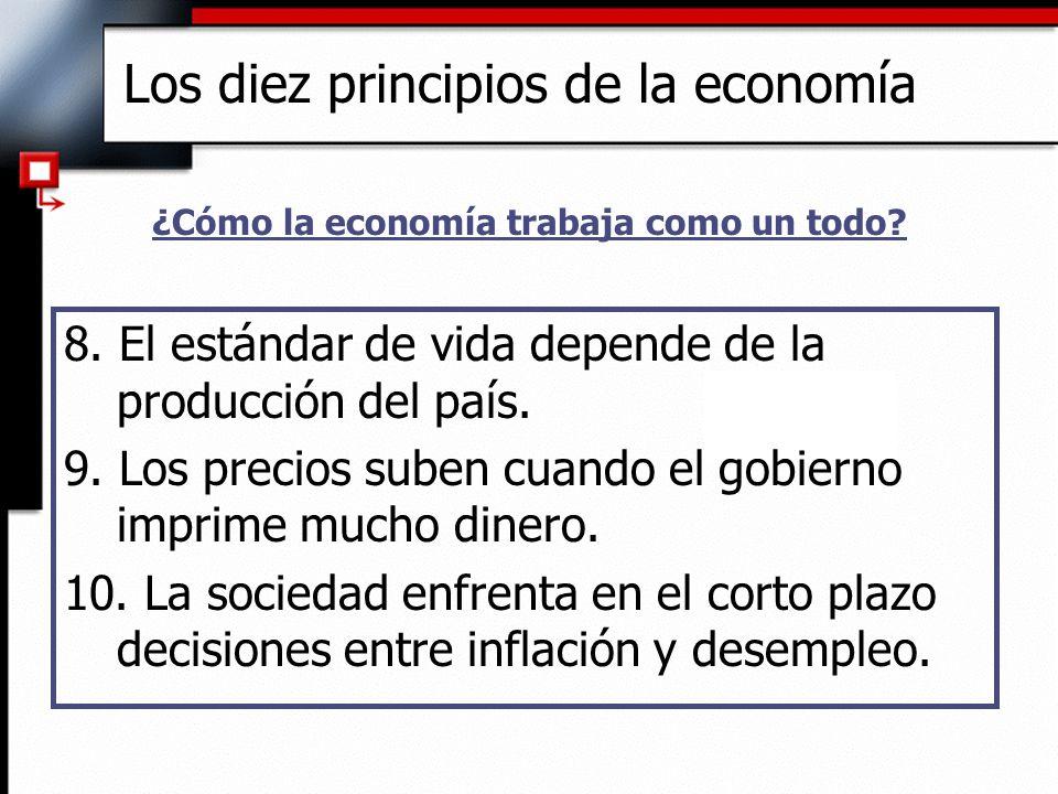 Dos roles de los Economistas u Cuando están tratando de explicar el mundo, ellos son científicos.