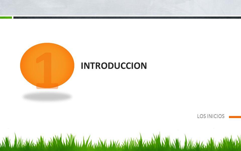 INTRODUCCION LOS INICIOS 1