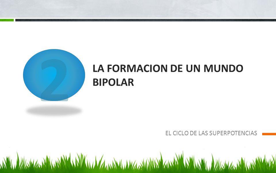 LA FORMACION DE UN MUNDO BIPOLAR EL CICLO DE LAS SUPERPOTENCIAS 2