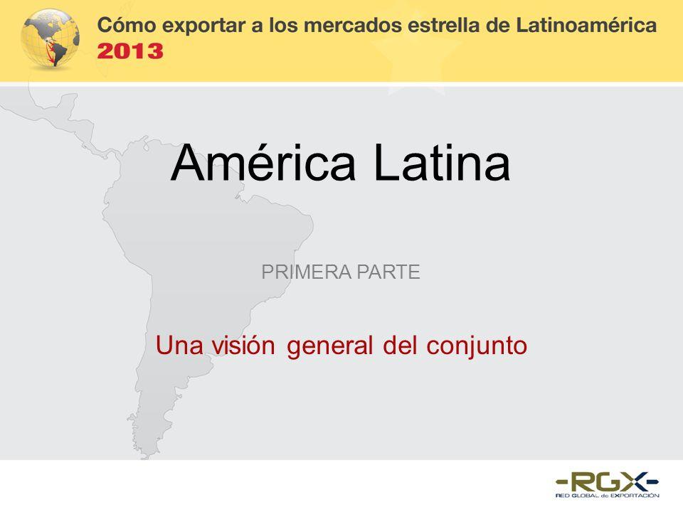 América Latina PRIMERA PARTE Una visión general del conjunto