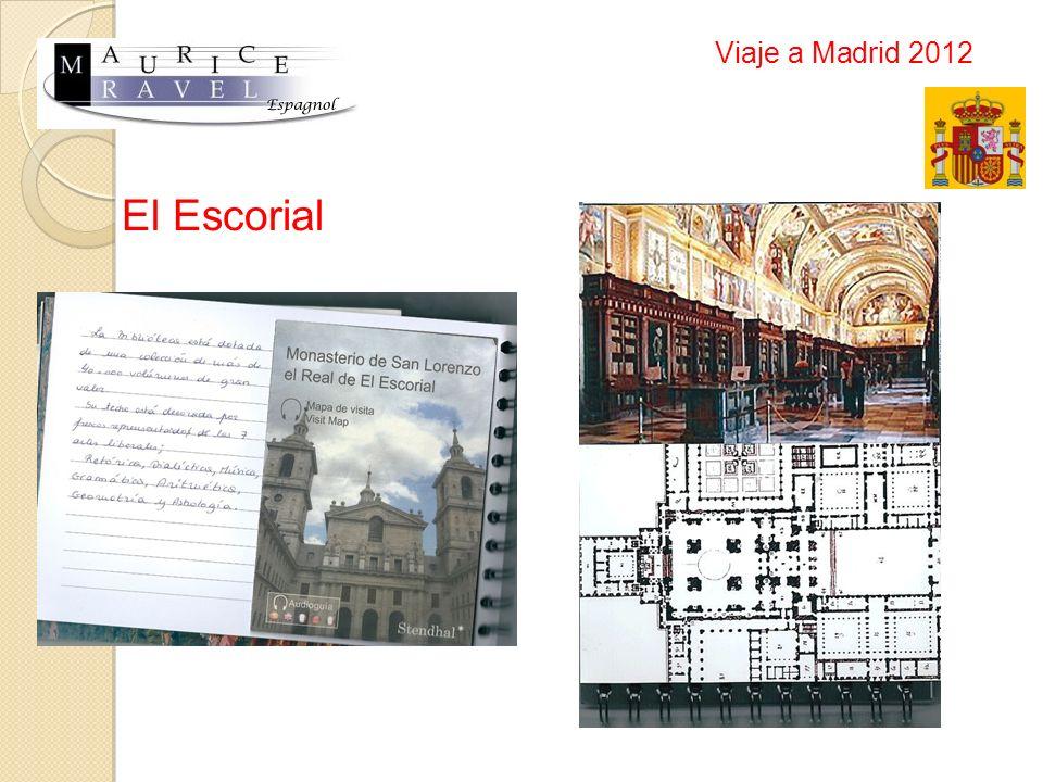 Viaje a Madrid 2012 El Escorial