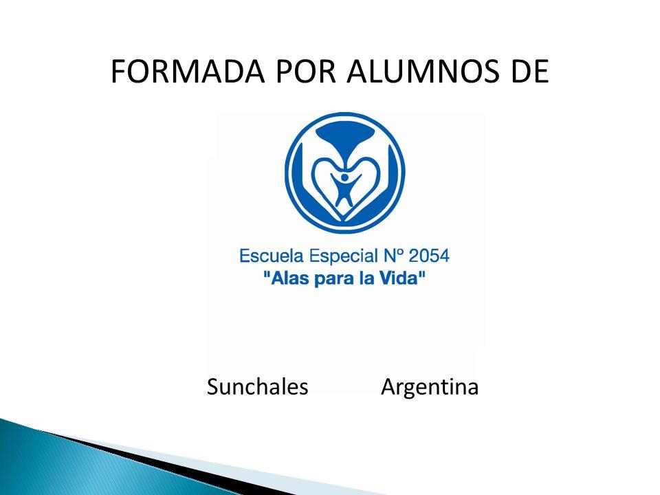 FORMADA POR ALUMNOS DE Sunchales Argentina