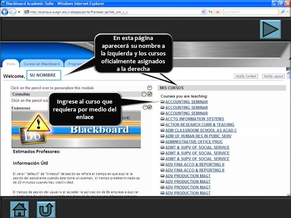 Colocar password (entregado por secretaria, apoyo Help Desk) Colocar username (el que utiliza para accesar cuenta de correo.