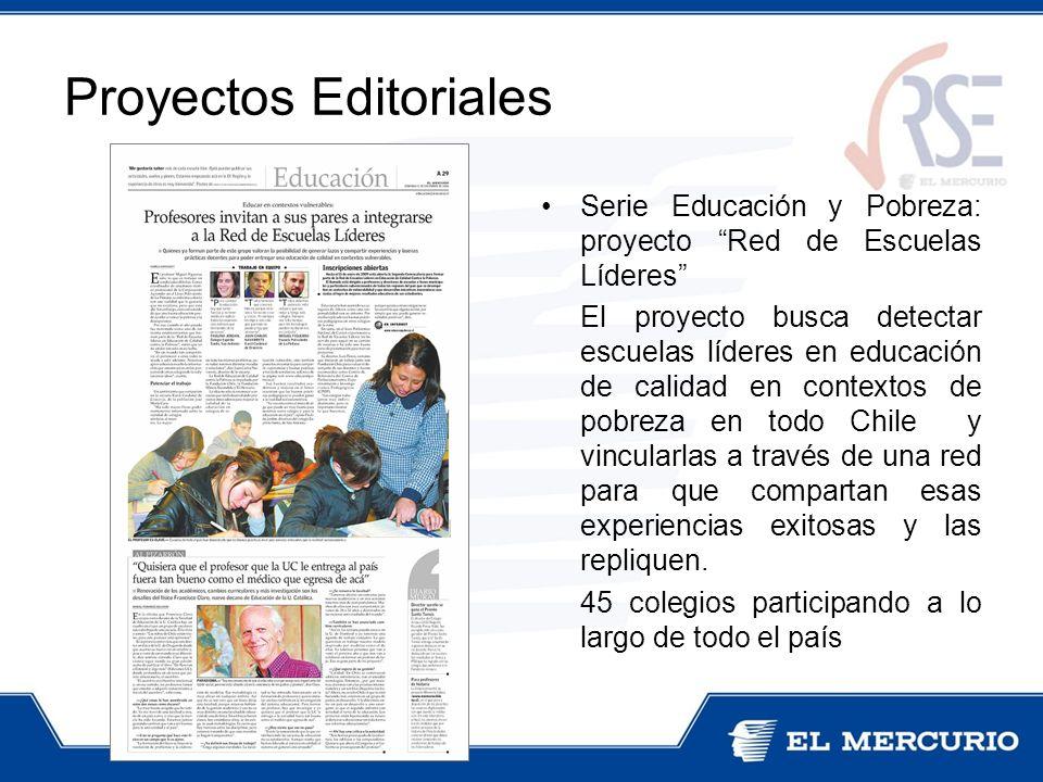 Serie Educación y Pobreza: proyecto Red de Escuelas Líderes El proyecto busca detectar escuelas líderes en educación de calidad en contextos de pobreza en todo Chile y vincularlas a través de una red para que compartan esas experiencias exitosas y las repliquen.