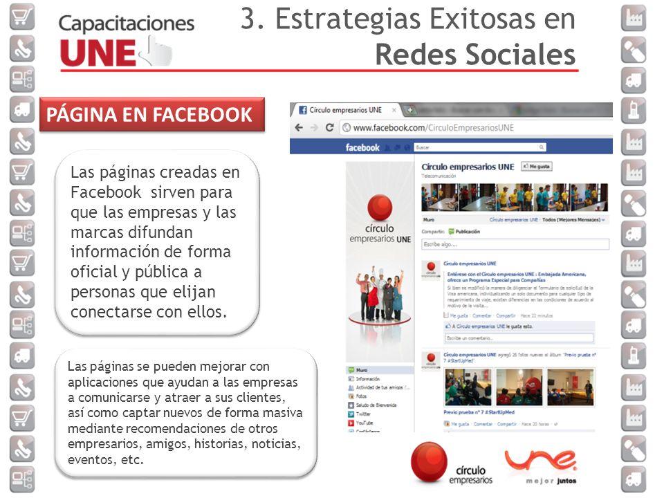 Las páginas creadas en Facebook sirven para que las empresas y las marcas difundan información de forma oficial y pública a personas que elijan conectarse con ellos.