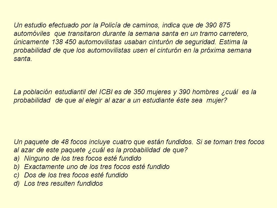 Supongamos que un estudio de mercado estima que las probabilidades de cierta zona vea el noticiero de TV Azteca es de 0.3, que vea el noticiero de Televisa es de 0.2 y de que vea ambos de 0.02.