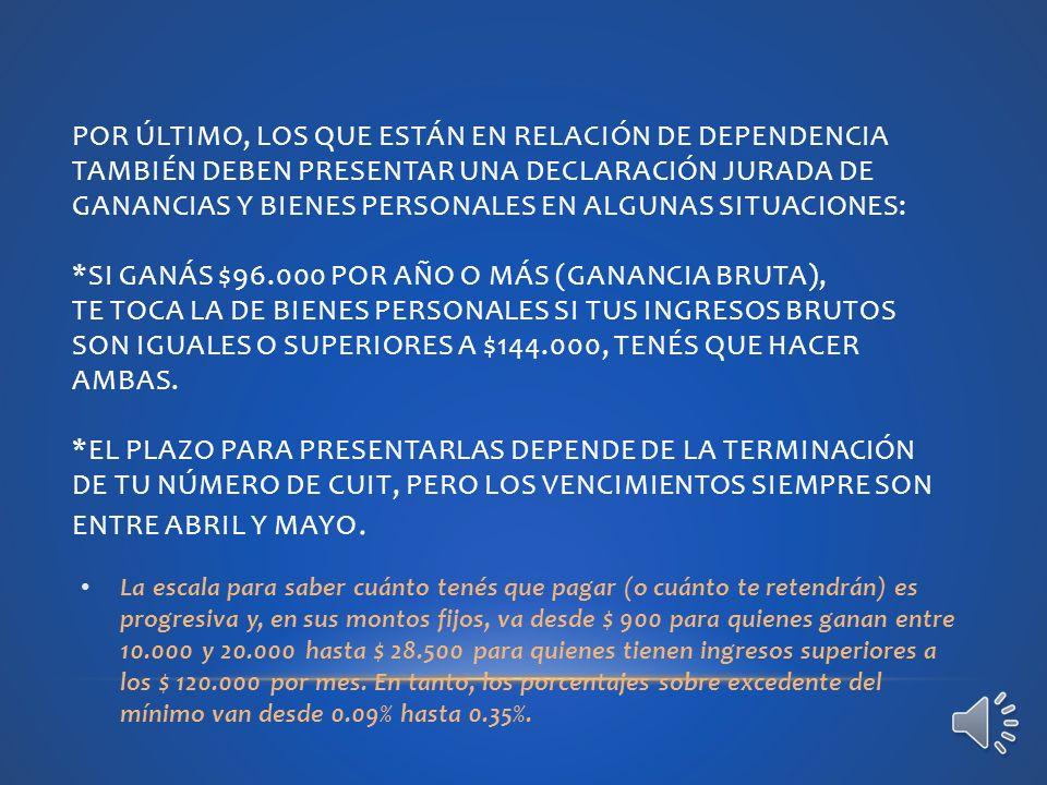 OBLIGACIONES DEL EMPLEADO: PRESENTAR DECLARACIÓN JURADA, FORMULARIO 572, CON DETALLE DE CARGAS DE FAMILIA Y CONCEPTOS A DEDUCIR PARA LA DETERMINACIÓN DEL IMPUESTO, AL INICIO DE LA RELACIÓN LABORAL Y ANTE CUALQUIER MODIFICACIÓN A LA INFORMACIÓN OPORTUNAMENTE SUMINISTRADA.