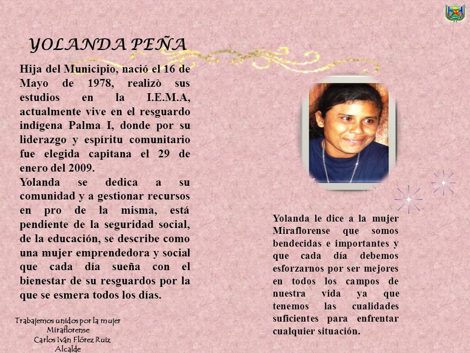 Nació en 1980 en Miraflores Guaviare, perteneciente a la etnia Cubeo estudio su primaria en el Internado Vuelta del Alivio. Se traslado hace 4 años a
