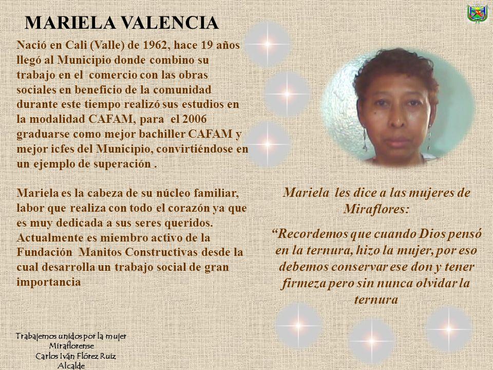 Nació en Pacoa Vaupés en 1956, cuando tenía ocho años llegó a Miraflores, aquí estudio destacándose como líder estudiantil Su espíritu de trabajo soci