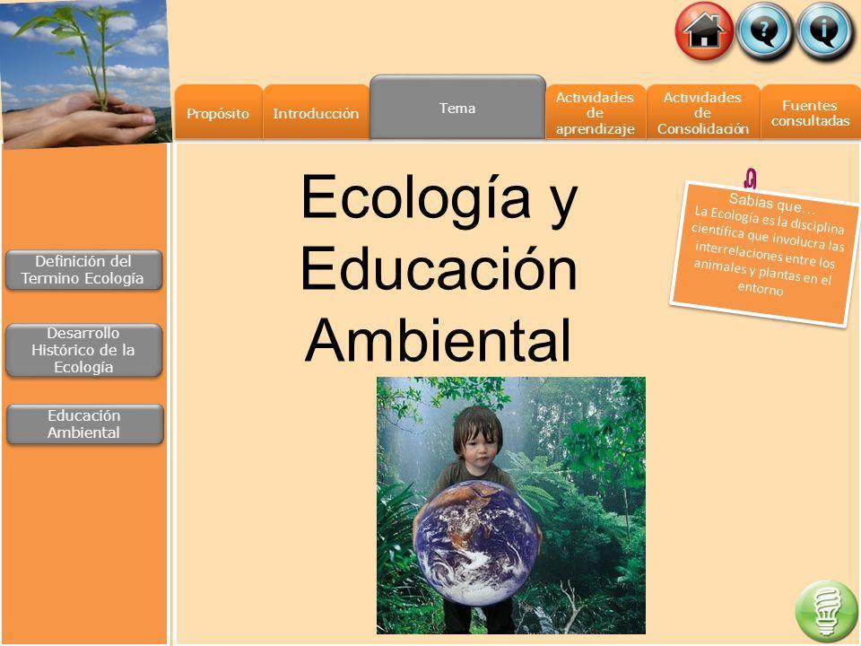 Propósito Introducción Actividades de Consolidación Actividades de Consolidación Fuentes consultadas Fuentes consultadas Tema Actividades de aprendiza