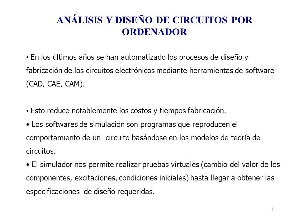 61 Análisis en Régimen Permanente Sinusoidal Generadores AC Vxxx N+ N- AC AMP DESFASE Ixxx N+ N- AC AMP DESFASE Sentencia.AC.AC TIPO NP FINICIO FFINAL Sentencia.PRINT.PRINT AC Vm(3) Vp(3) Ir(r3) I1(r3)