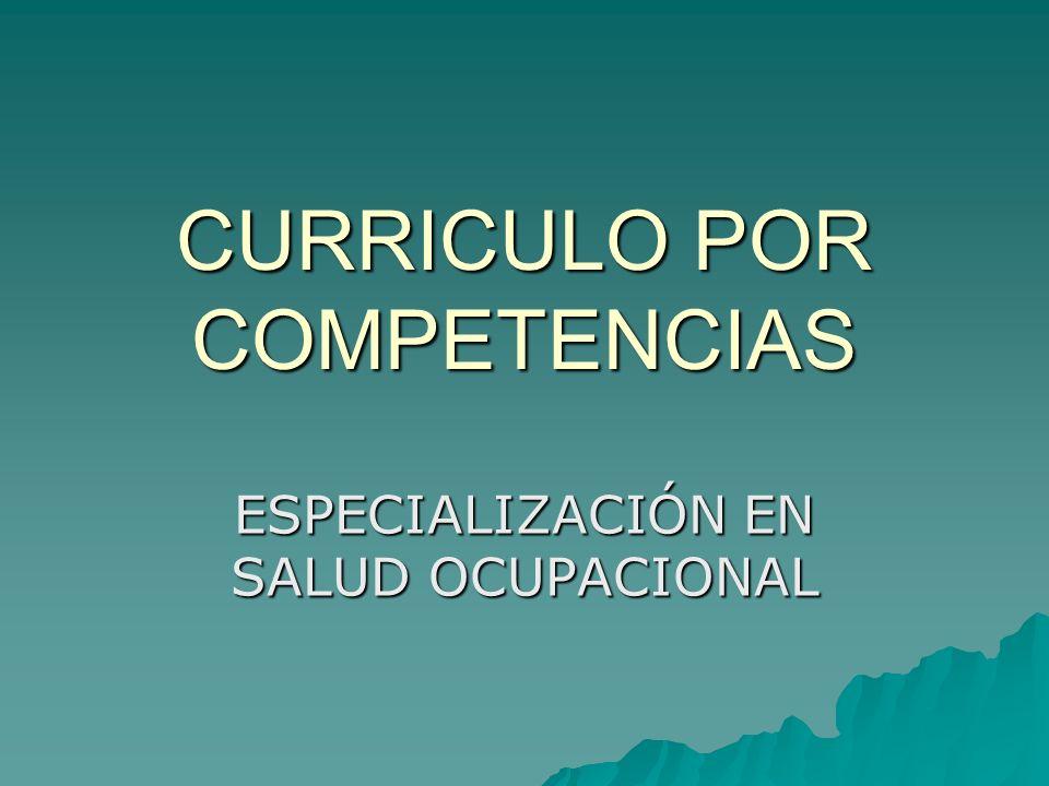 CONTENIDOS DE LAS COMPETENCIAS El saber hacer: El saber hacer: Formalizado (reglas para actuar).