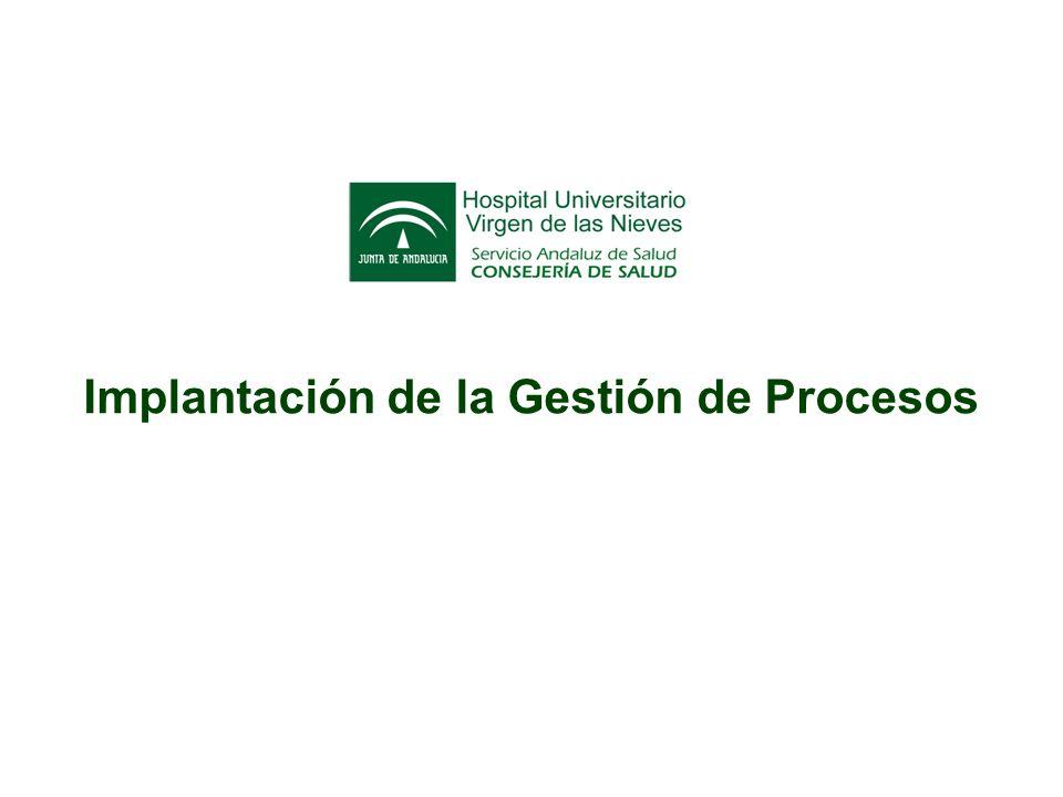 Agenda Presentación Gestión del proyecto Modelo de procesos Piloto de Gestión de procesos Conclusiones