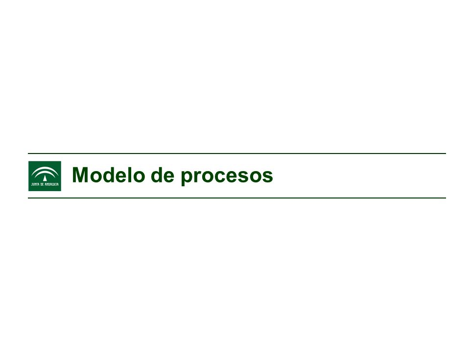 El modelo de procesos GRUPOS DE INTERES Accionistas Sociedad Mercado L.Proveedores MercadoClientes Accionistas Sociedad Mercado L.Proveedores MercadoClientes Árbol de procesos Árbol de procesos A0 1 2 3 A3 1 2 3 Mapa de procesos Mapa de procesos