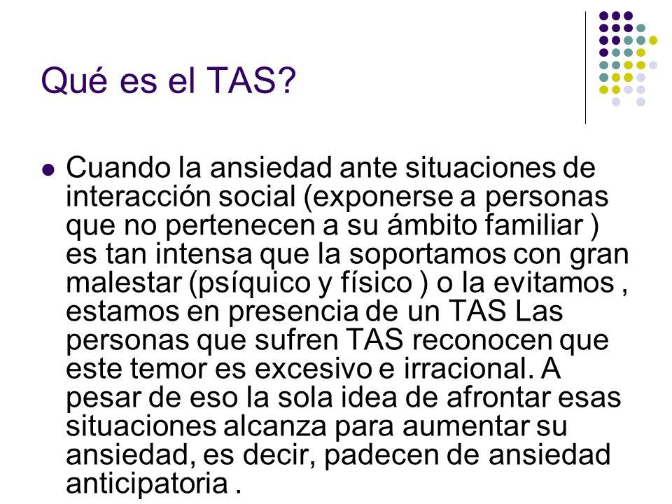 Qué es el TAS.