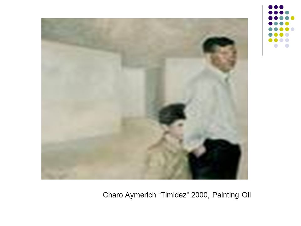 Charo Aymerich Timidez.2000, Painting Oil