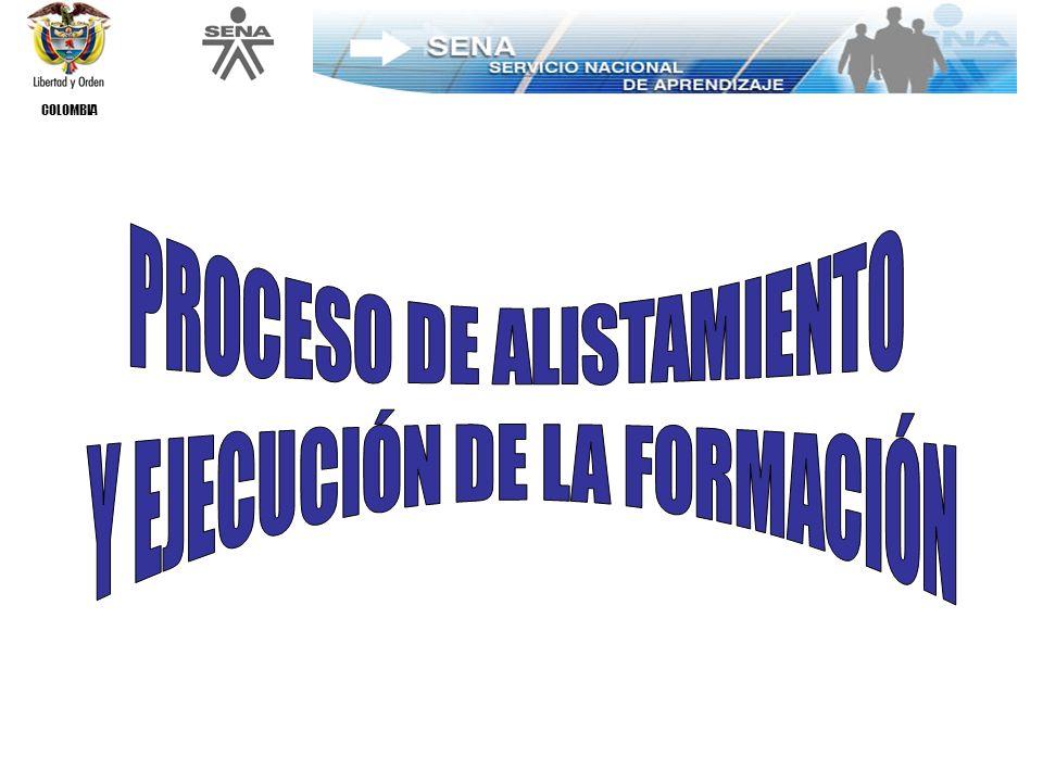 COLOMBIA FORMACIÓN PARA TODA LA VIDA EFICIENCIA INVERSIÓN FORMACIÓN PERTINENCIA DE LA RESPUESTA REDUCEDESERCIÓN AUMENTAEFECTIVIDAD DE LA FORMACIÓN FLEXIBILIZAELPROCESO BENEFICIOS