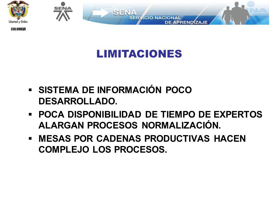 COLOMBIA BAJA PARTICIPACIÓN DE TRABAJADORES EN ALGUNAS MESAS SECTORIALES.