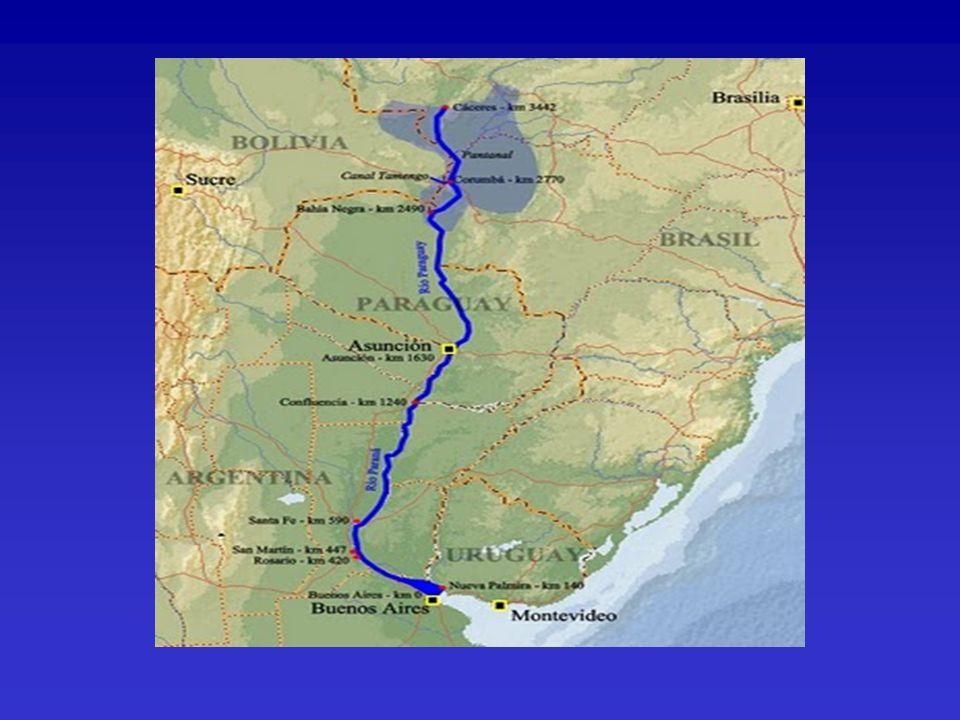Mejorar las condiciones de navegabilidad del sistema fluvial Facilitar la navegación.