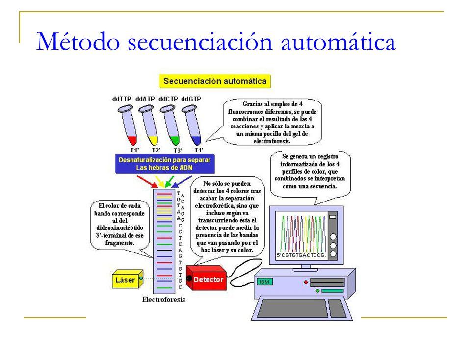 Método dideoxi de Sanger (3)