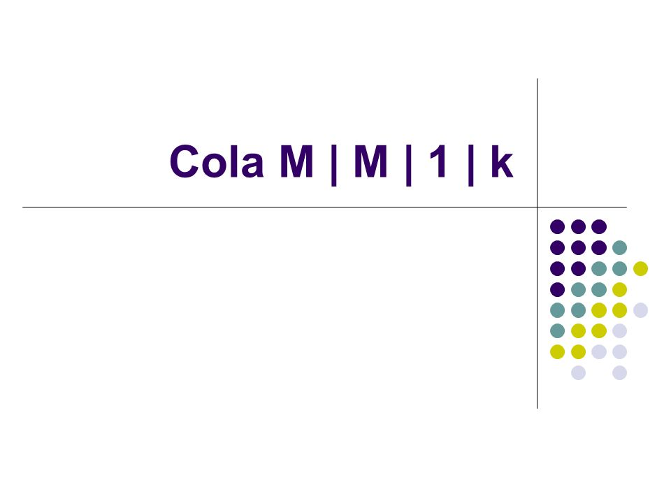 Cola M | M | 1 | k