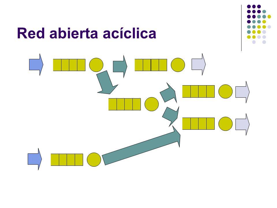Red abierta acíclica