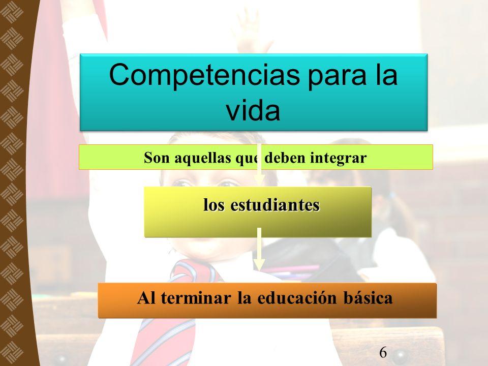 SEP, REFORMA EN SECUNDARIA, 2006 Competencias para la vida SEP, REFORMA EN SECUNDARIA, 2006 Para el aprendizaje permanente Para el manejo de la información Para el manejo de situaciones Para la convivencia Para la vida en sociedad
