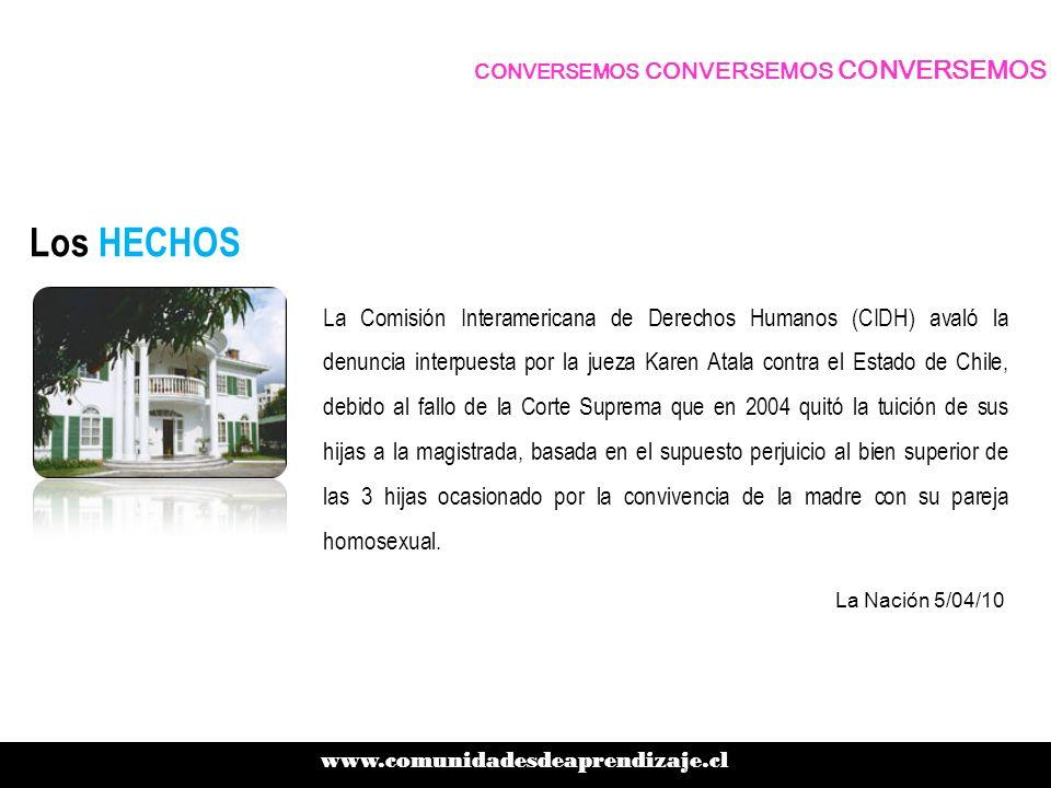 Los HECHOS Junto con ello, la instancia hizo recomendaciones al Estado chileno en orden a reparar el daño causado a la familia y a evitar la ocurrencia de situaciones similares en el futuro.