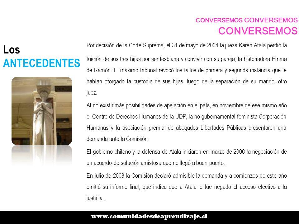 Los ANTECEDENTES Esta semana el gobierno del derechista Sebastián Piñera anunció que crearía una mesa de trabajo con representantes de todos los actores involucrados, siguiendo los planteamientos del organismo con sede en Washington.