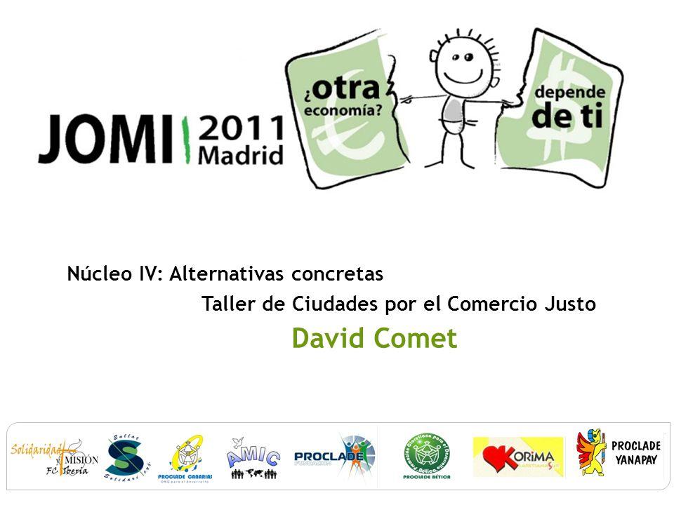 Con el apoyo de: Implicación Cd educativa: Universidades y Colegios por el Comercio Justo