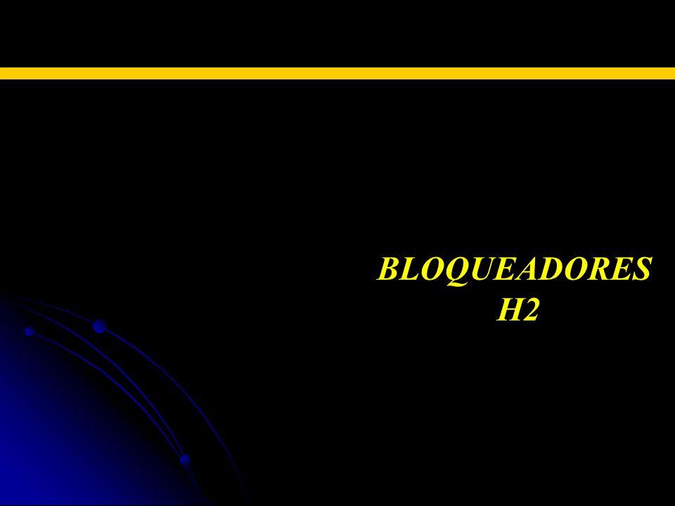 TERAPIA FARMACOLÓGICA BLOQUEADORES H2 H2