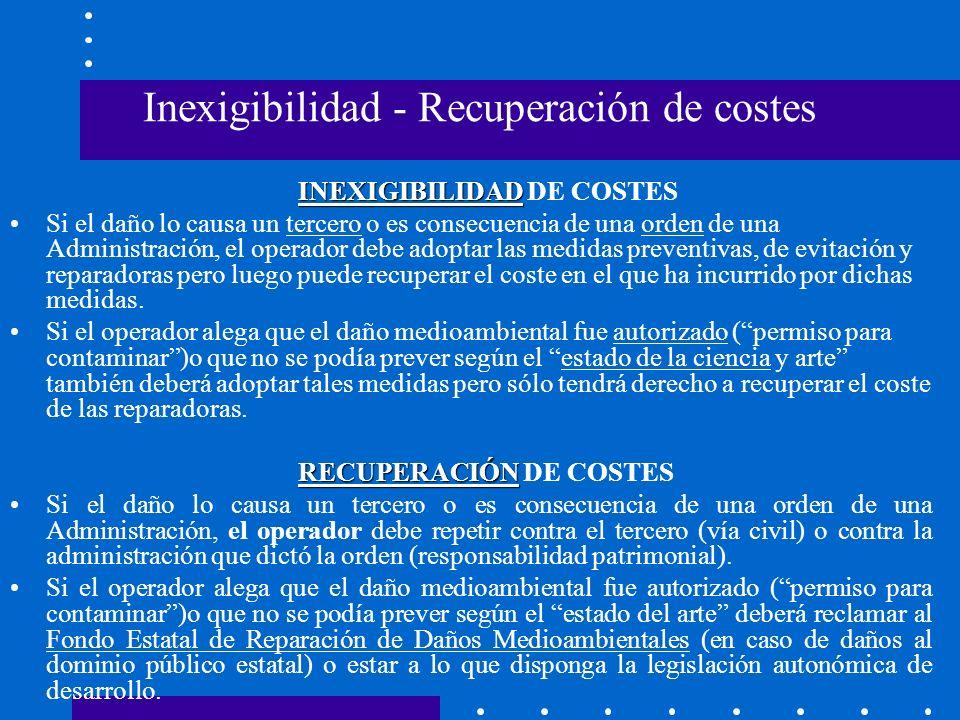 OBLIGACIONES - OPERADORES Generales: información y colaboración.