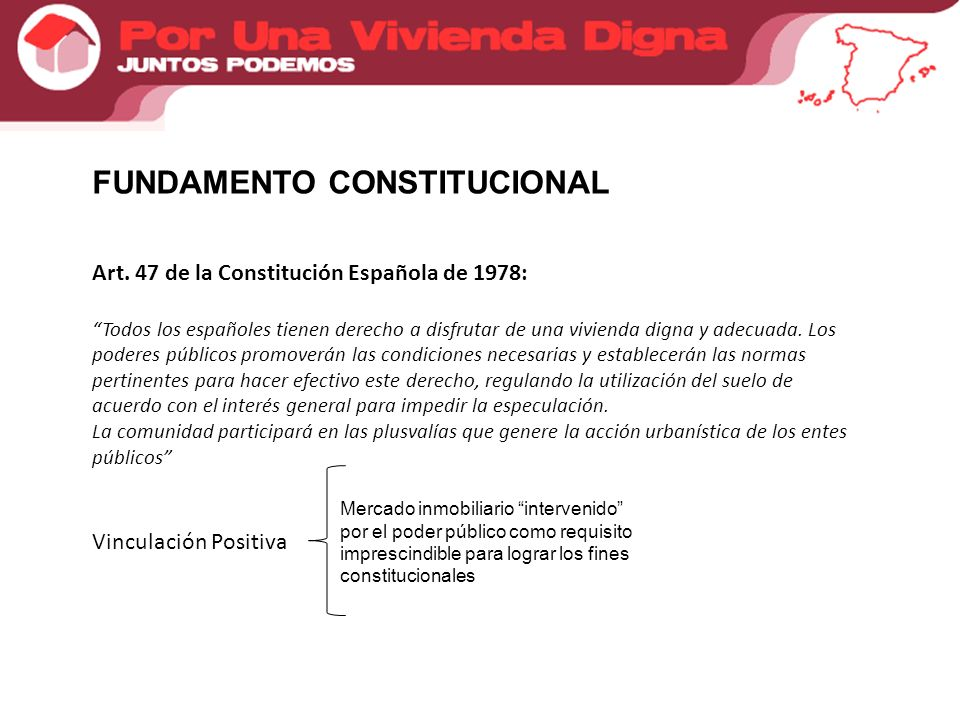 FUNDAMENTO CONSTITUCIONAL Art.