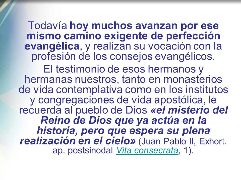 Una vez más, Jesús es el modelo ejemplar de adhesión total y confiada a la voluntad del Padre, al que toda persona consagrada ha de mirar. Atraídos po