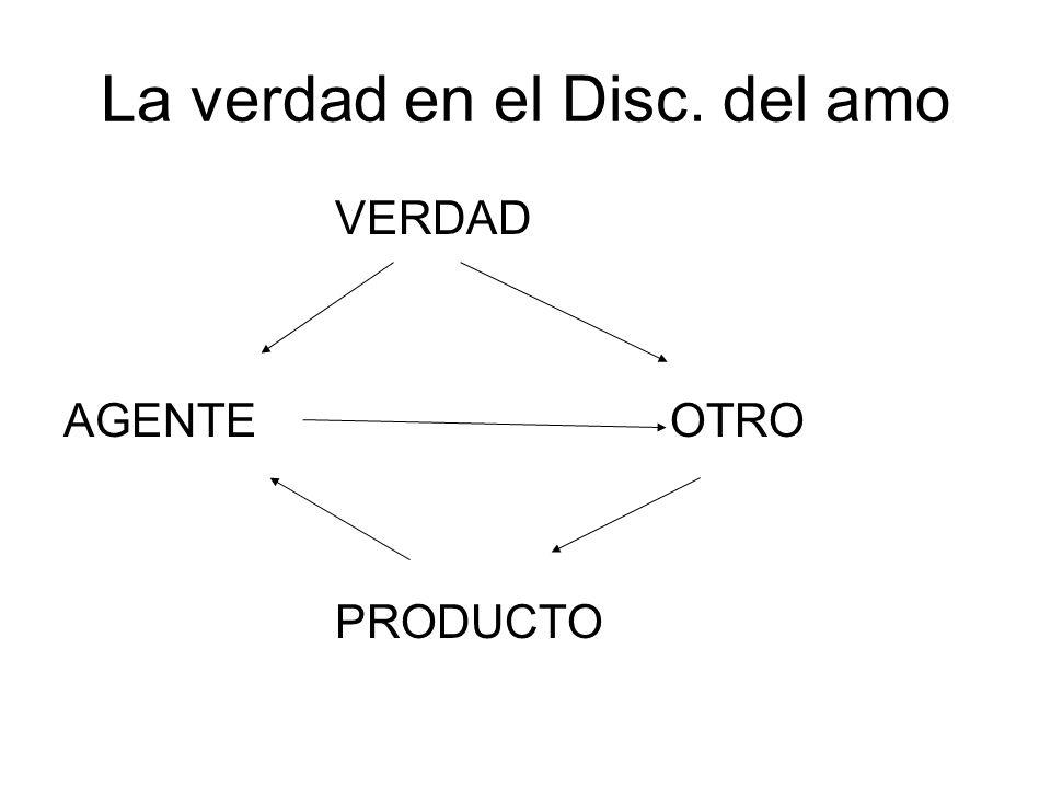 La verdad en el Disc. del amo VERDAD AGENTE OTRO PRODUCTO