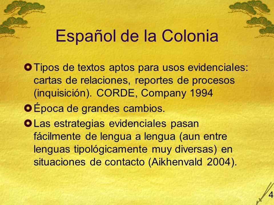 Resultados sorprendentes del CORDE: México 5