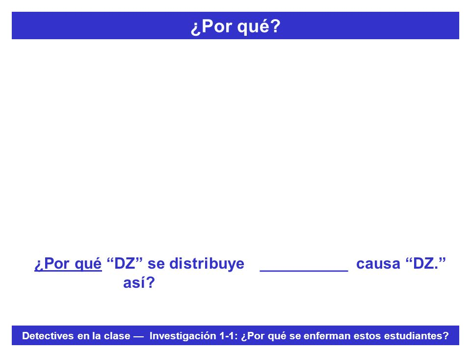 Hoja de registro de datos Epi ¿Es mi descripción de la distribución of DZ acertada.