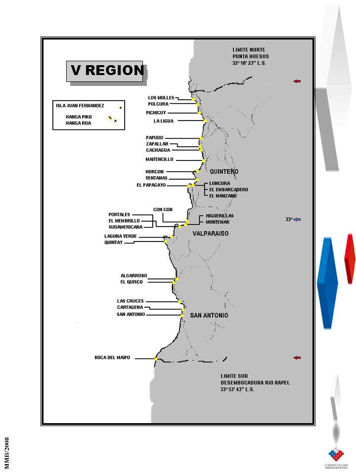 V REGION MMB/2008