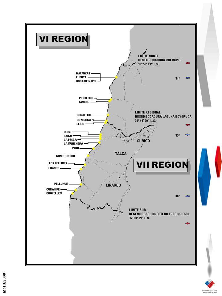 VI REGION VII REGION MMB/2008