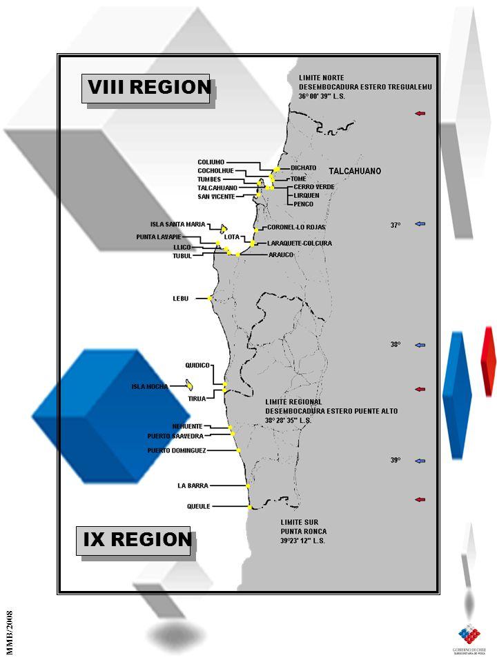 VIII REGION IX REGION MMB/2008