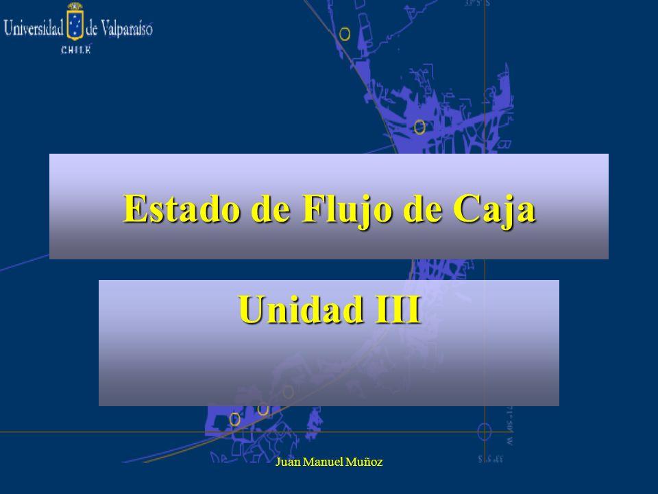 Juan Manuel Muñoz Estado de Flujo de Caja Unidad III