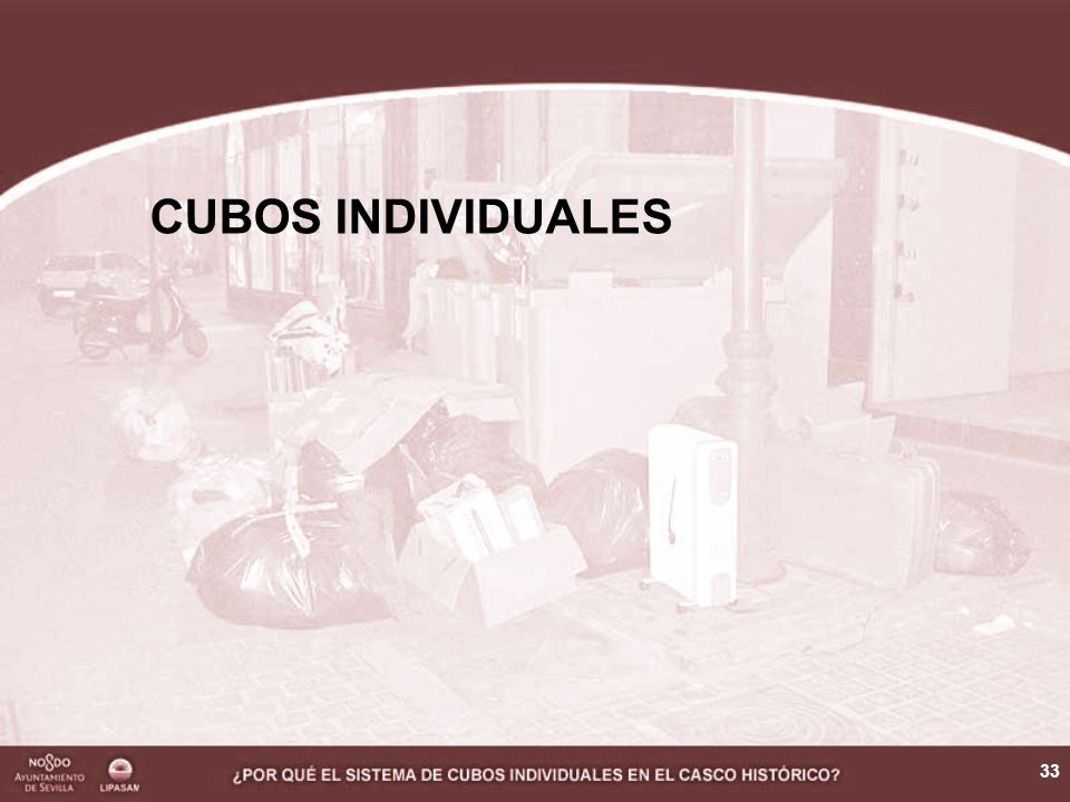 34 Es el sistema que se ha adoptado en las principales ciudades, tanto europeas como españolas.