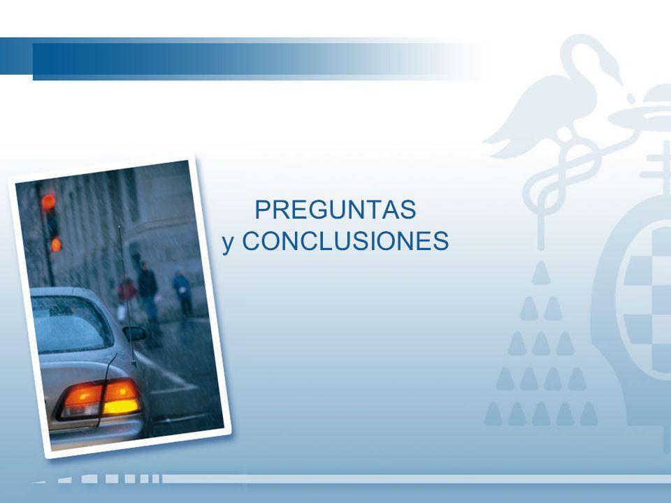 Preguntas y Conclusiones 11 Con el fin de reducir la siniestralidad vial en las carreteras, usted considera que es más efectivo… El 61,1% opta por considerar ambas medidas igual de efectivas.