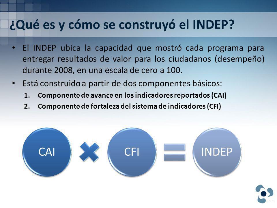 ¿Qué es y cómo se construyó el INDEP.
