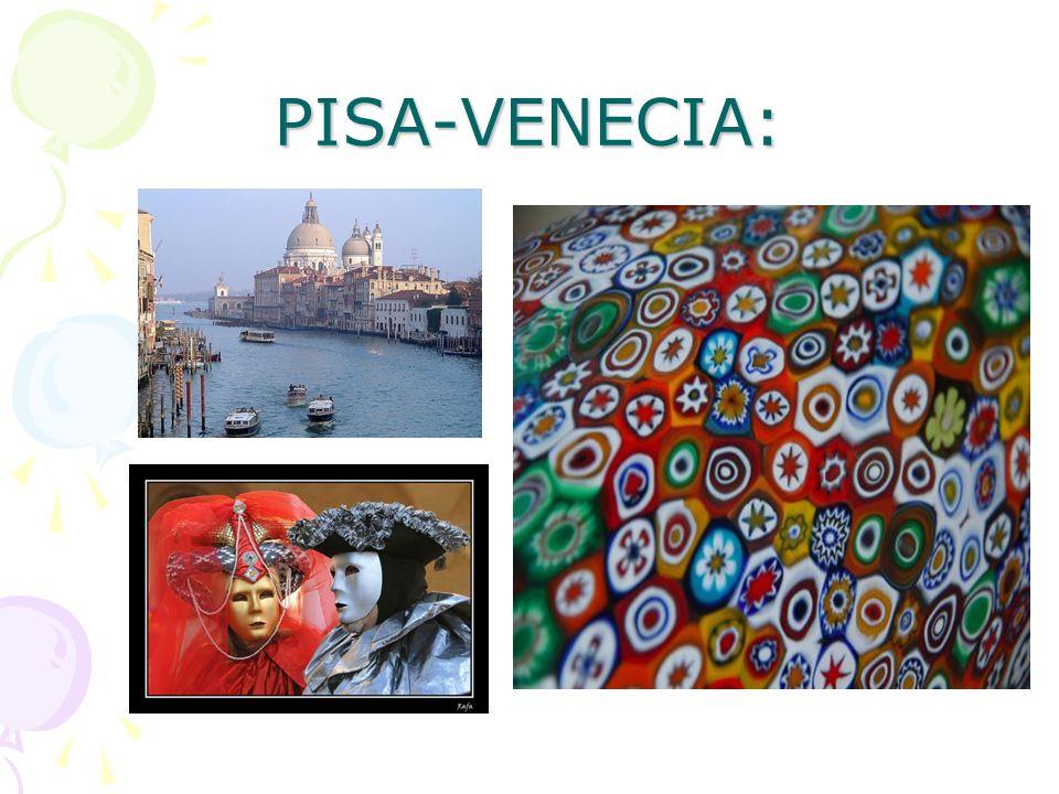 PISA-VENECIA: