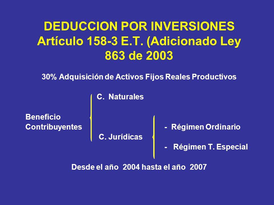 Activos Construidos ó fabricados por el Contribuyente EFECTO NETO DEL BENEFICIO EN EL IMPUESTO SOBRE LAS VENTAS IMPUESTO DESCONTABLE I.V.A.
