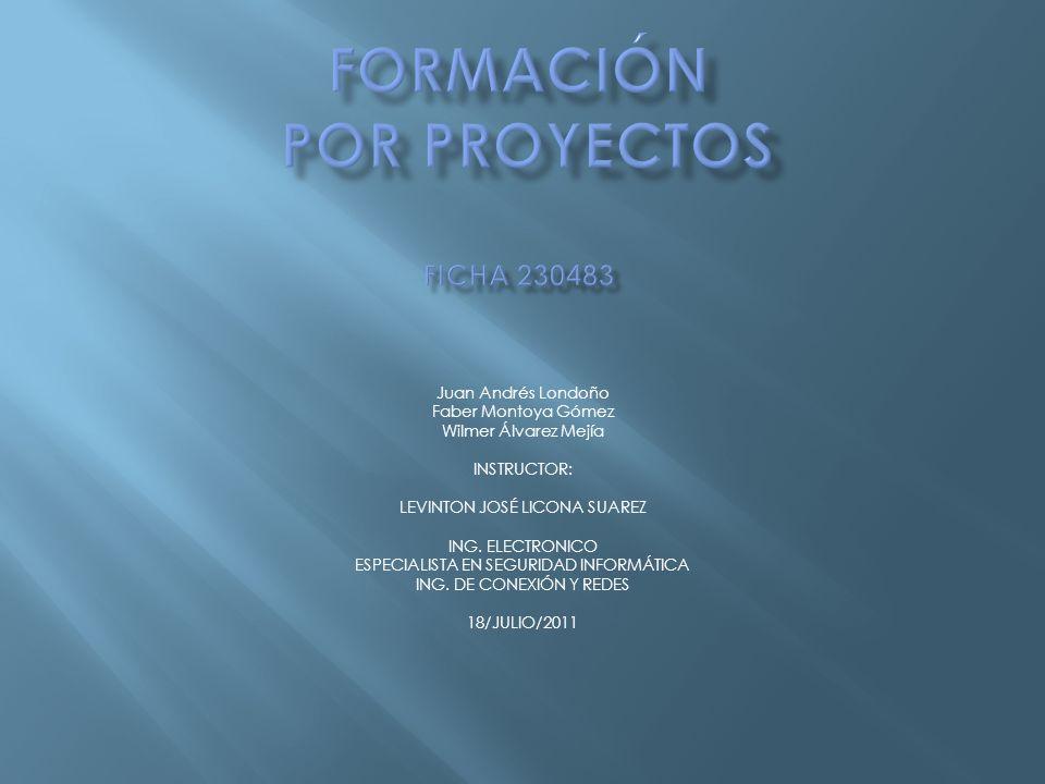 Juan Andrés Londoño Faber Montoya Gómez Wilmer Álvarez Mejía INSTRUCTOR: LEVINTON JOSÉ LICONA SUAREZ ING. ELECTRONICO ESPECIALISTA EN SEGURIDAD INFORM